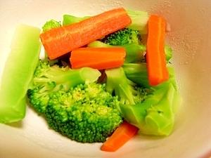 【昆布だしで】温野菜サラダ【取り分け離乳食】