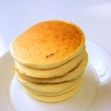 卵なし!やさしい味の豆乳パンケーキ