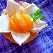 花咲くパンケーキ