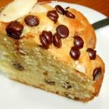 パウンド風フルーツチョコケーキ