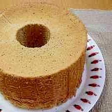 ふわっふわの紅茶シフォンケーキ