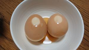 余った冷やし中華のタレ消費!煮卵