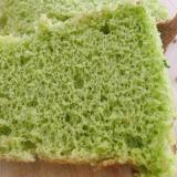 ほうれん草の米粉シフォンケーキ