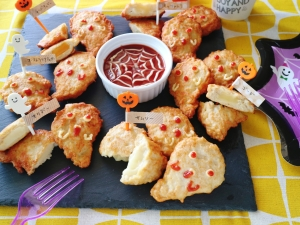 【楽天市場商品で作る】ゴーストチーズチキンナゲット