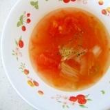 トマト一個で!スピードスープ