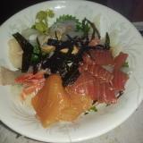 すし酢と海鮮丼