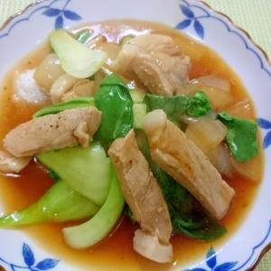 豚ロース肉の中華風煮込み