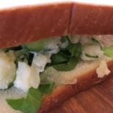 チーズレタスポテサラサンド