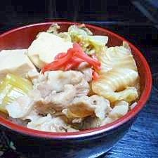 簡単!すき焼き丼 400kcal 9分