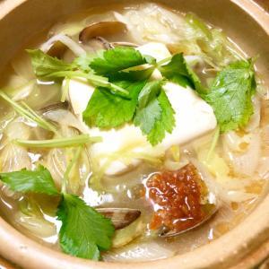 あっさり♪白スンドゥブチゲ[韓国料理]