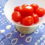 さっぱりプチトマトの甘酢漬け