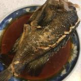 黒ソイの煮付け(魚の煮付け)