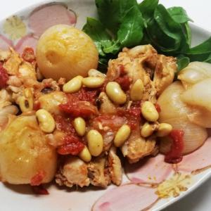 無水で簡単!美味しい!柔らか手羽元のトマト煮