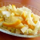 柚子で❤大根&白菜の「ほの甘い」一夜漬け♪