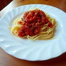我が家の定番!絶対美味しいトマトパスタソース♪