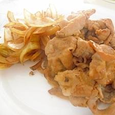 ご飯がすすむ 豚のにんにく焼き