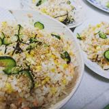 鮭と卵と胡瓜のおすし  きのう何食べた 再現