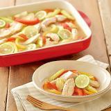 鶏肉と香味野菜のソテーマリネ