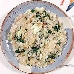 三十雑穀で作る、真鱈の炊き込みご飯