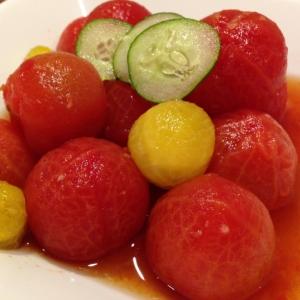 減塩!たっぷり食べれるミディトマトの和風サラダ
