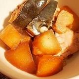 ぶりと冬瓜の煮物
