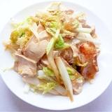 豆干炒白菜 押し豆腐と白菜の炒め物