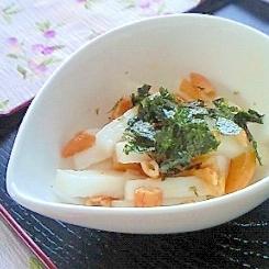 簡単おつまみ・箸休め~長いもの柿の種あえ