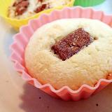 ビターチョコのメープル香るカップケーキ