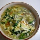 残りスープで中華丼