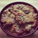 豚肉と白インゲン豆の煮込み*カスレ