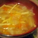 具だくさん!中華スープ