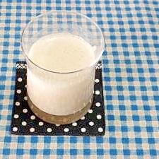 黒ゴマきな粉の豆乳バナナジュース