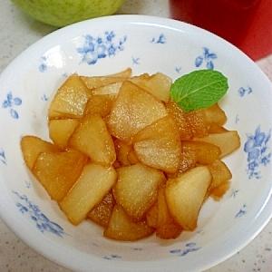 ジャム代わりに・・・お砂糖控えめ♪りんごの甘煮♪