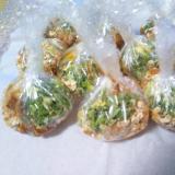 おかか乾燥ネギ干し椎茸の味噌玉