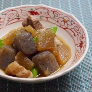 ホッ‼とする味✩大根と豚バラとこんにゃくの煮物