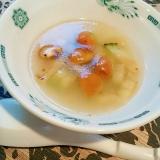 ズッキーニの中華スープ