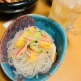 カラフル中華風☆春雨の酢の物