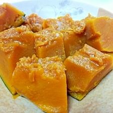 シリコンスチーマーで少量作る!かぼちゃの煮物♪