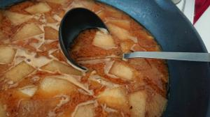 冬瓜のお味噌汁
