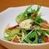 タコと水菜のシャキシャキサラダ