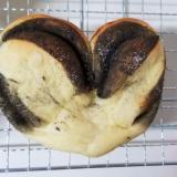 ハートのパン