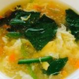 ☆簡単☆とろとろ中華な卵スープ(◞︎ꈍ∇︎ꈍ)◞︎