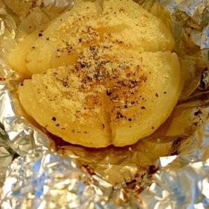 丸ごと玉ねぎのオーブン焼き