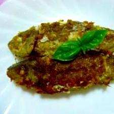 魚(今回はイサキ)のバジル風味焼き