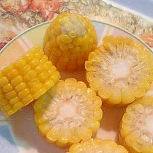 栄養まるごと☆八百屋さん直伝♪レンジ茹でモロコシ
