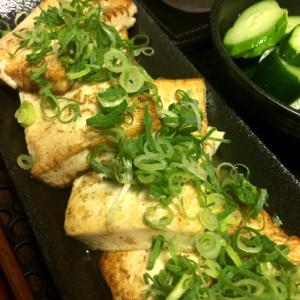 【糖質オフ】水切りしない!豆腐ステーキ☆