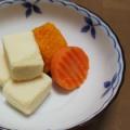 高野豆腐☆人参☆冷凍かぼちゃ煮