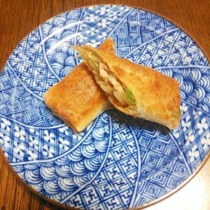 小松菜と野菜のカンタン春巻き