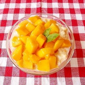 夏♡離乳食後期 フルーツヨーグルトパフェ