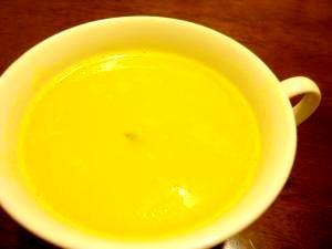 圧力なべで☆簡単かぼちゃのスープ